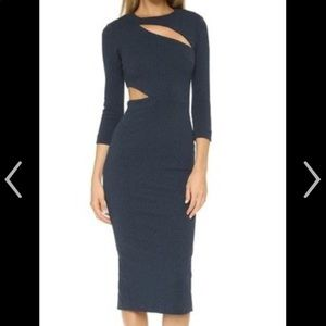 NWT elizabeth and James midi dress